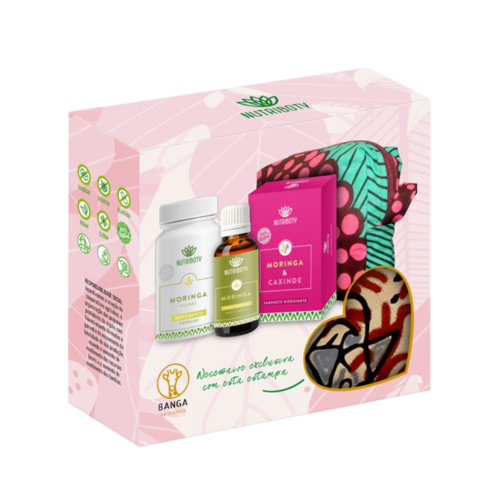 Pré-Venda Exclusiva - Kit Moringa Nutriboty